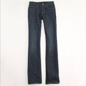JCrew Hipslung Bootcut Jeans 27SHORT